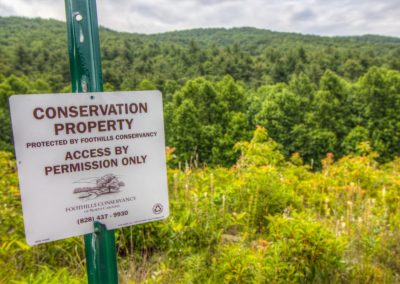 Bordered by conservation lands