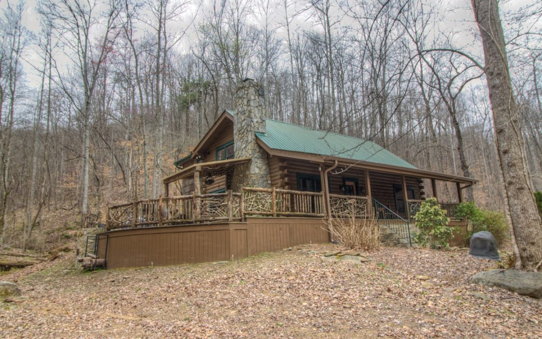 40 Acres With Cabin and Creeks