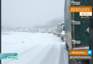 Winter Storm  Hits Home