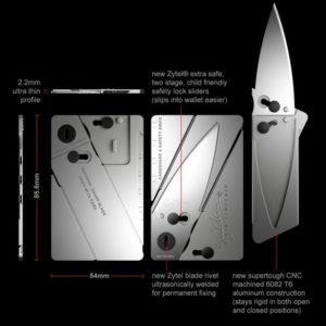 Sinclair aluminum knife