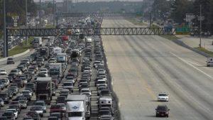 Traffic jam katrina 2