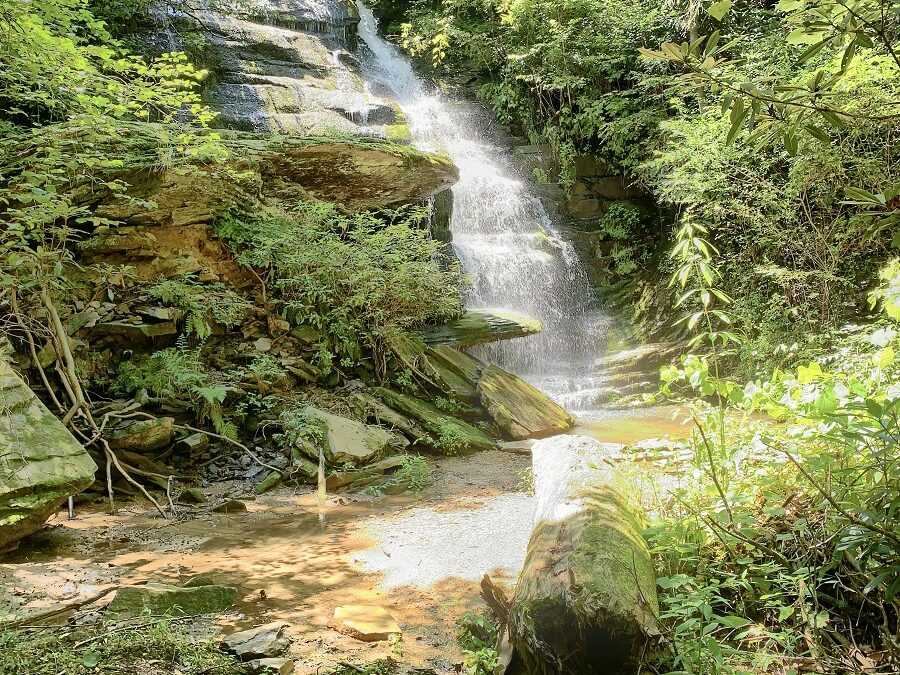 58 Acres With Big Waterfall Near Black Mountain