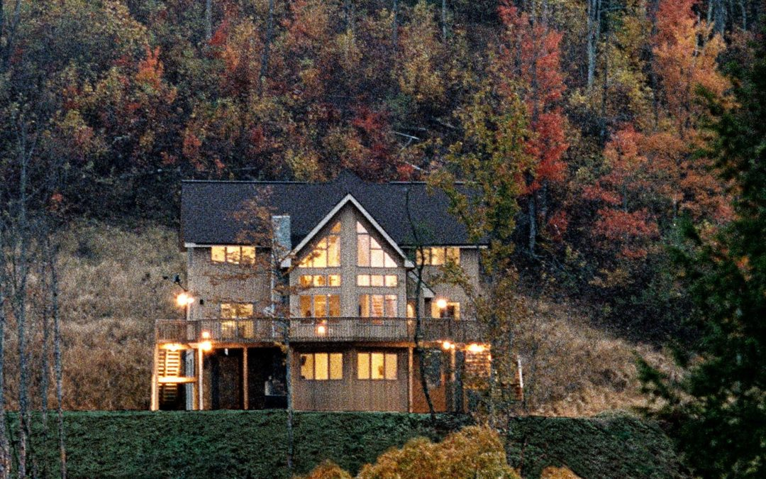 Riverfront Property With Mountain Views